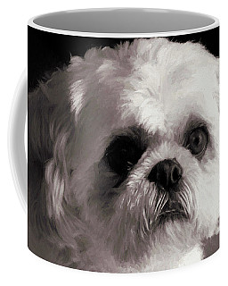 Coffee Mug featuring the painting My Bubba - Painting by Ericamaxine Price
