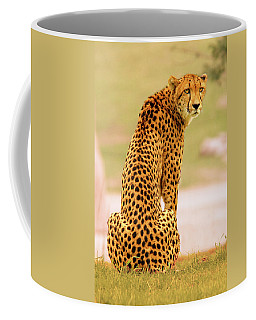 Coffee Mug featuring the photograph My Cheetah by Howard Bagley