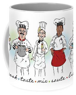 My Chefs In A Row-i Coffee Mug