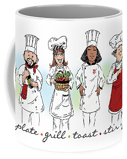 My Chefs In A Row-ii Coffee Mug