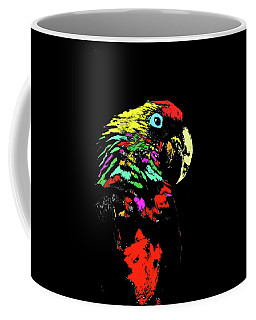 Coffee Mug featuring the photograph My Colorful Mccaw by Howard Bagley