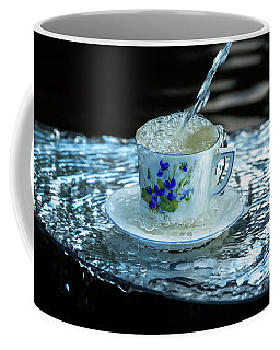 My Cup Overflow Coffee Mug by Rose-Marie Karlsen