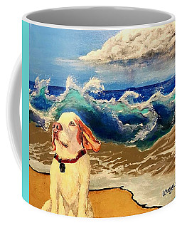 My Dog And The Sea #1 - Beagle Coffee Mug