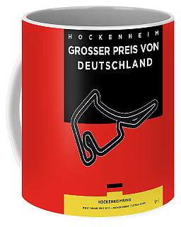 My F1 Germany Race Track Minimal Poster Coffee Mug