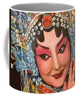 Coffee Mug featuring the painting My Fair Lady by Belinda Low