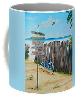 My Favorite Beaches Coffee Mug