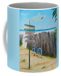 My Favorite Beaches Coffee Mug