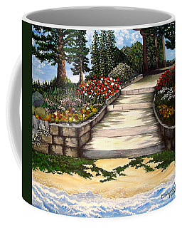 Coffee Mug featuring the painting My First Masterpiece by Elizabeth Robinette Tyndall