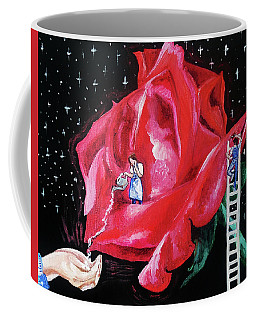 Coffee Mug featuring the painting My Fragrant Offering by Jennifer Page