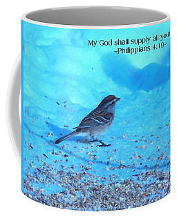 My God Shall Supply Coffee Mug