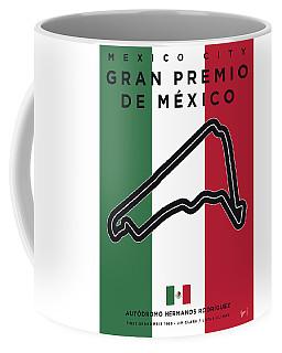 My Gran Premio De Mexico Minimal Poster Coffee Mug
