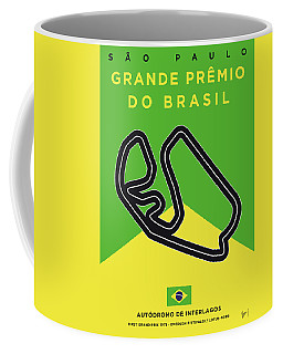 My Grande Premio Do Brasil Minimal Poster Coffee Mug