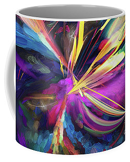 Coffee Mug featuring the digital art My Happy Place by Margie Chapman