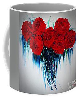 My Heart Of Roses Coffee Mug