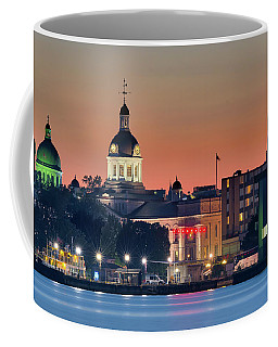 My Home Town At Night... Coffee Mug