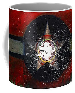 Coffee Mug featuring the painting My Indian Red by Charles Stuart
