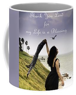 My Life A Blessing Coffee Mug
