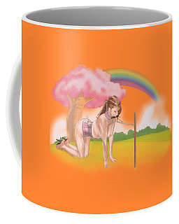 Coffee Mug featuring the mixed media My Little Pony by TortureLord Art