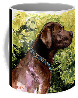 Coffee Mug featuring the painting My Lucky Charm by Molly Poole
