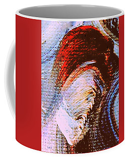 Coffee Mug featuring the painting My Muse by VIVA Anderson