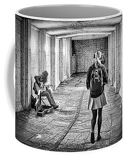 Coffee Mug featuring the photograph My Music Not Yours by Thomas Gaitley