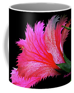 Palm Springs Flower My Name Is Wow Coffee Mug