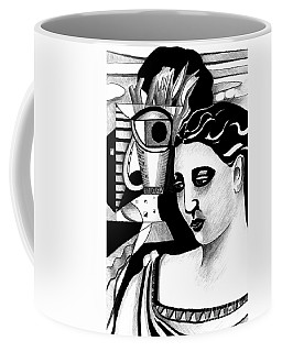 My Outing With A Young Woman By Picasso Coffee Mug