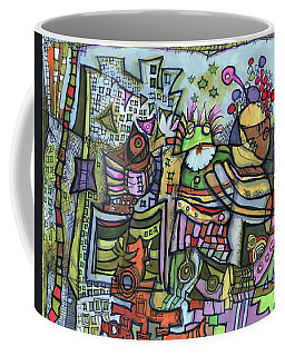 My Party Coffee Mug by Sandra Church