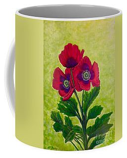 My Poppy Love Coffee Mug by Kimberlee Baxter