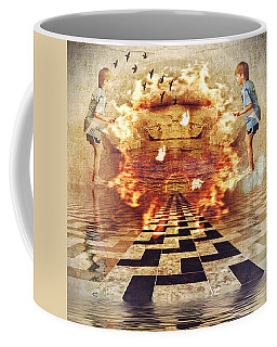 My Shadow's Reflection II Coffee Mug