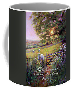 My Sheep Hear My Voice Coffee Mug