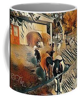 My Sheep Put A Smile On My Face, Every Morning Coffee Mug