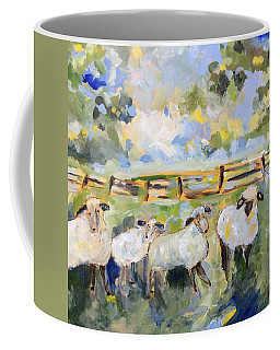 My Sheep Will Follow Me Coffee Mug