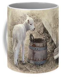 Coffee Mug featuring the photograph My Shepherd by Robin-Lee Vieira