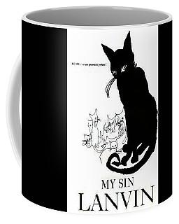 Coffee Mug featuring the digital art My Sin by ReInVintaged