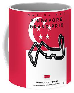 My Singapore Grand Prix Minimal Poster Coffee Mug