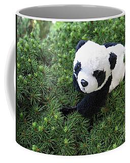 Coffee Mug featuring the photograph My Soft Green Bed by Ausra Huntington nee Paulauskaite