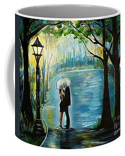 Coffee Mug featuring the painting My Soulmate by Leslie Allen