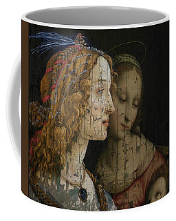 Coffee Mug featuring the mixed media My Special Child by Paul Lovering