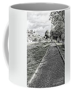 Coffee Mug featuring the photograph My Street II by Al Bourassa
