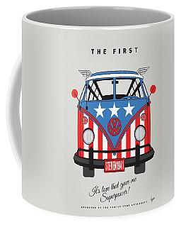 My Superhero-vw-t1-cap America Coffee Mug