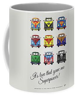 My Superhero-vw-t1-supermanmy Superhero-vw-t1-universe Coffee Mug