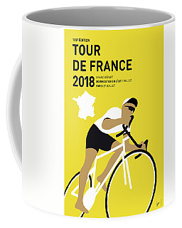 My Tour De France Minimal Poster 2018 Coffee Mug