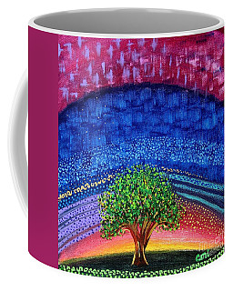 Tree At Nightfall Coffee Mug