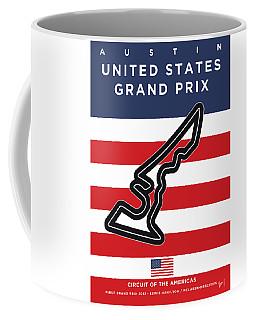 My United States Grand Prix Minimal Poster Coffee Mug