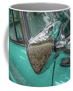 Coffee Mug featuring the photograph My View In Blue by Linda Unger