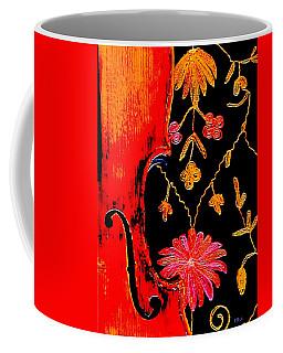 My Violin On Barcelona Shawl Coffee Mug