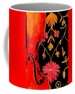 My Violin On Barcelona Shawl Coffee Mug