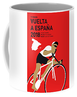 My Vuelta A Espana Minimal Poster 2018 Coffee Mug