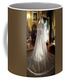 Coffee Mug featuring the photograph My Wedding Gown by Gary Smith